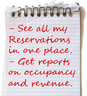 See all my reservations in one place